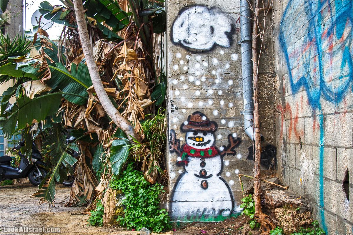 Тель Авивский снеговик
