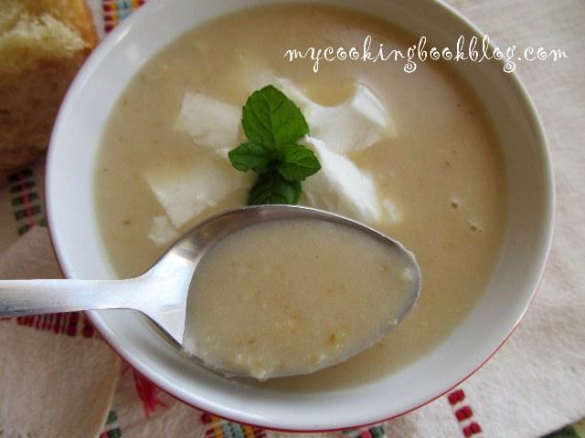 Кипърска супа Трахана (Τραχανάς)