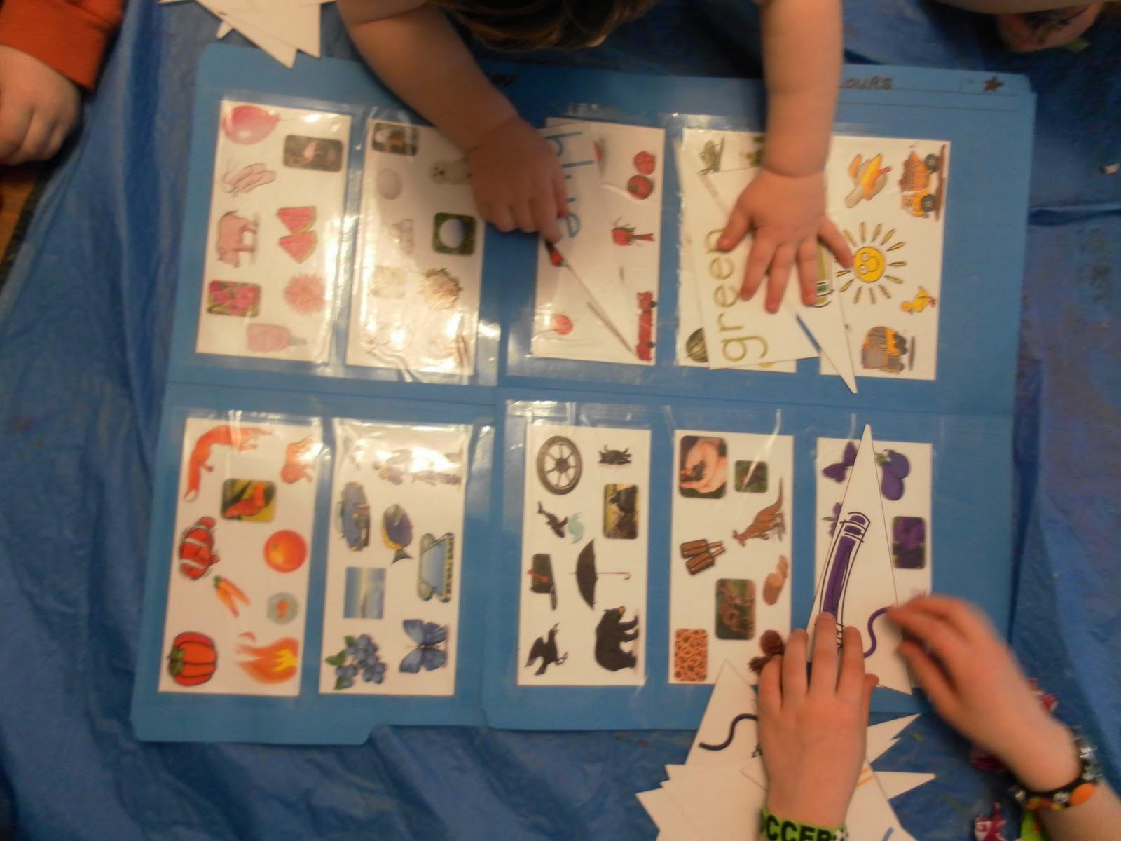 Autism Fruit And Vegetable Worksheet Set