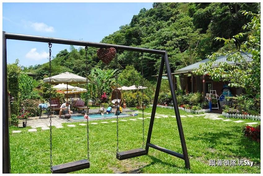 宜蘭景點推薦-大同鄉深山裡的戲水親子餐廳【幾度咖啡】