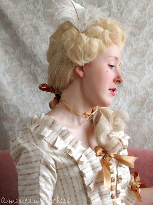 how to make an 18th century wig from an affordable costume wig american duchess