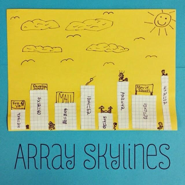 Multiplication Activity- Array City