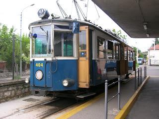 Trieste tram Opicina