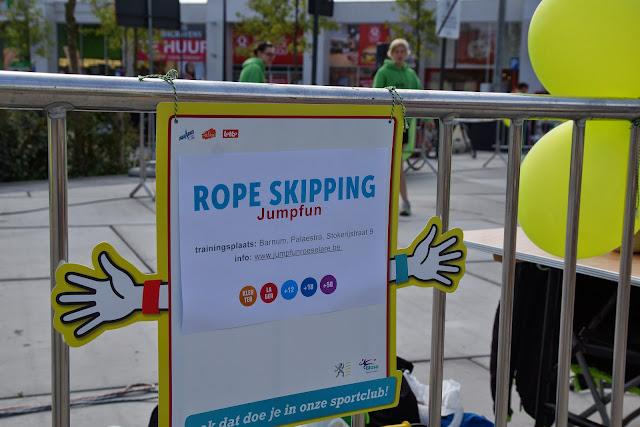 rope skipping, sportmarkt Roeselare