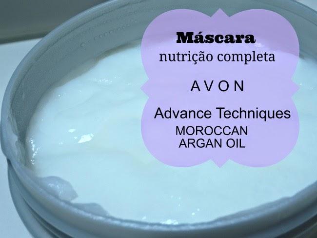 máscara advance techniques moroccan argan oil avon