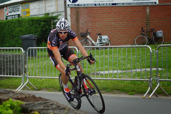 Ward Vander Meiren - 1/8e triatlon Roeselare - 1 juni 2014