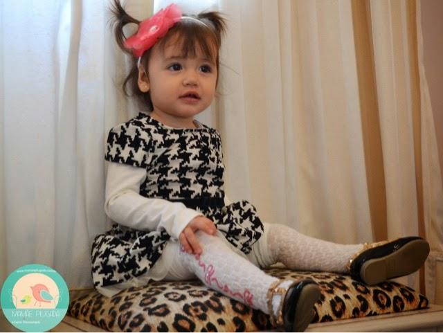 Moda infantil P&B