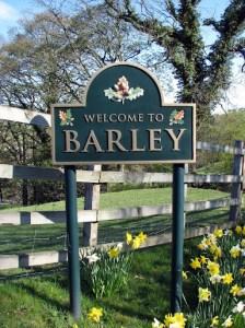 Barley Village Sign