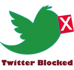 Twitter Blocked in Pakistan