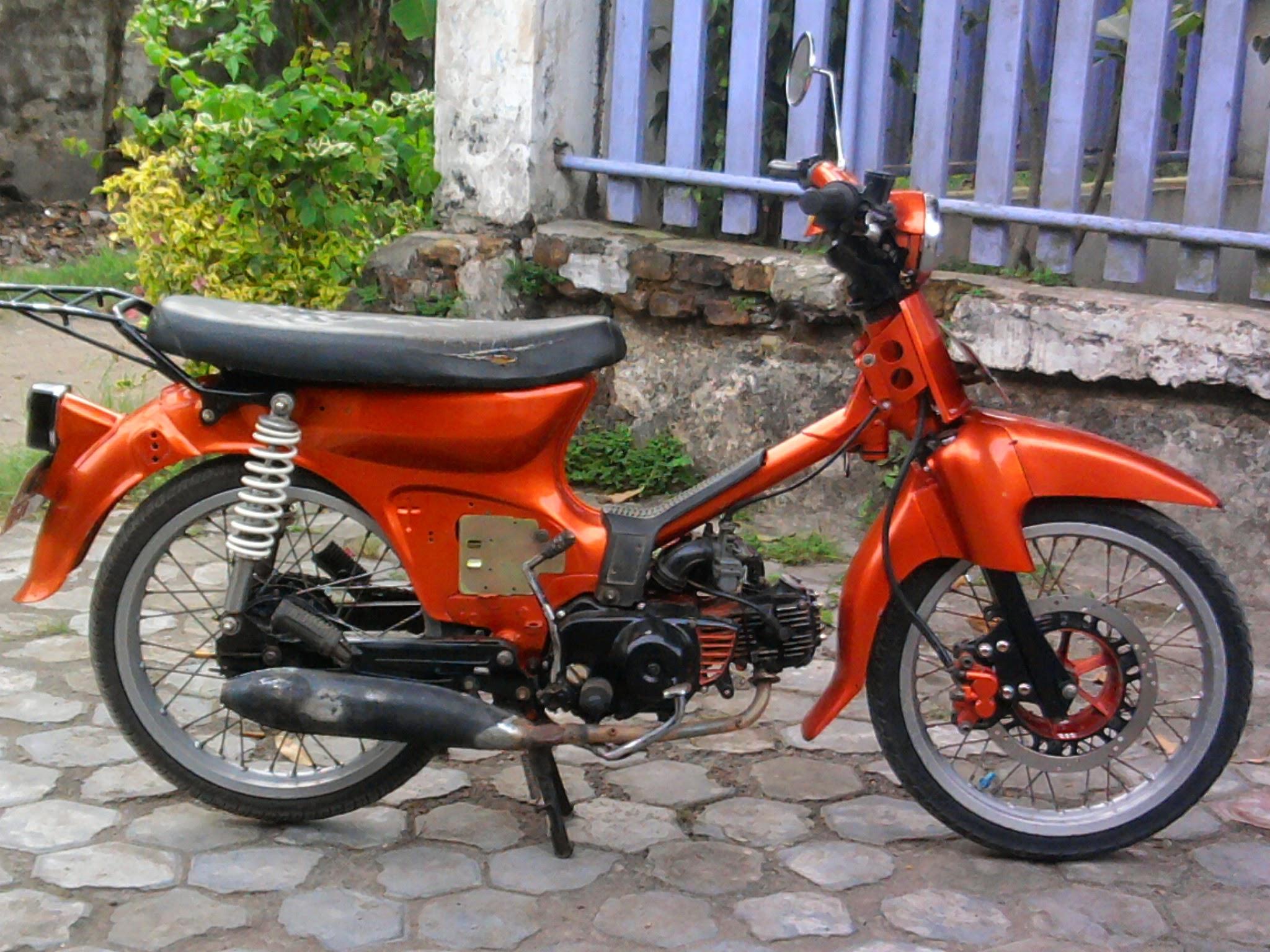 Astrea Grand Modifikasi C70  Thecitycyclist