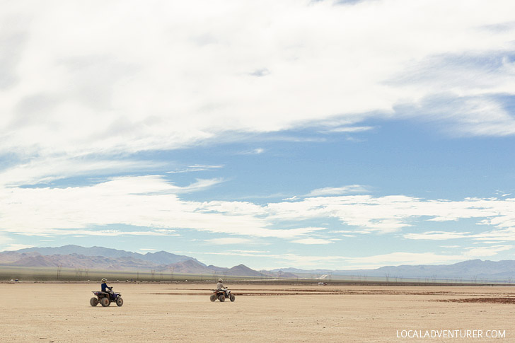 ATV Tour //  Things for Kids to Do in Vegas.