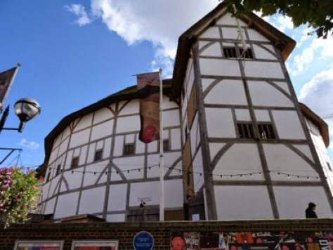 Globe Theatre, o teatro de Shakespeare, Londres