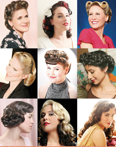 hairstyles gallery pin up