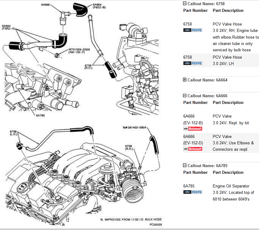 ford 3 8 v6 duratec engine diagram