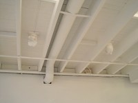 Painted basement ceiling...I do believe this HAS to go on ...