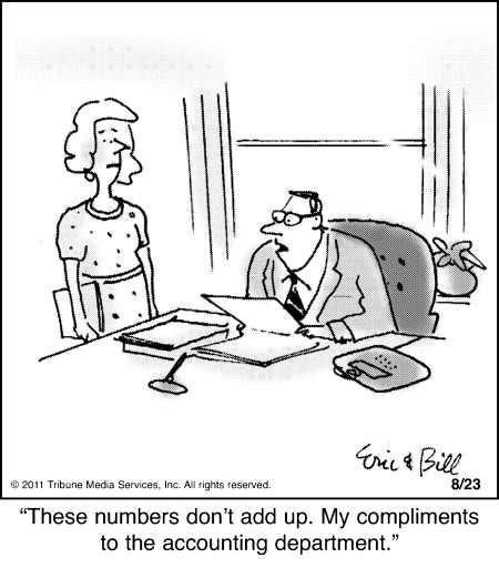 Some people appreciate creative accounting… « Tax Guru