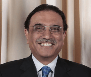 Pakistan's President Asif Ali Zardari