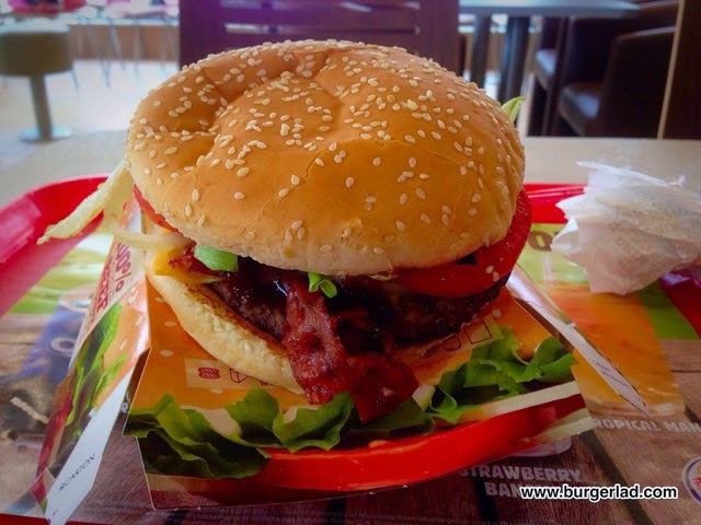 Burger King Summer BBQ Whopper