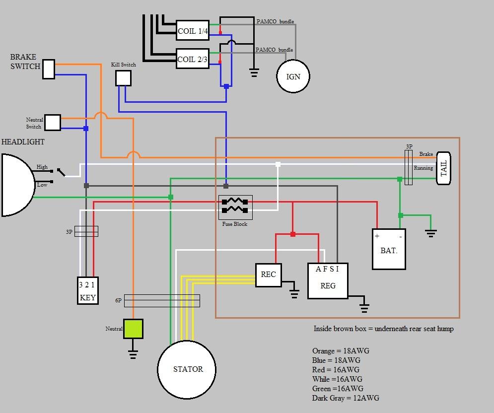 medium resolution of what is needed for a bare minimum wiring harness cobra cb mic wiring diagram honda cb360 wiring diagram
