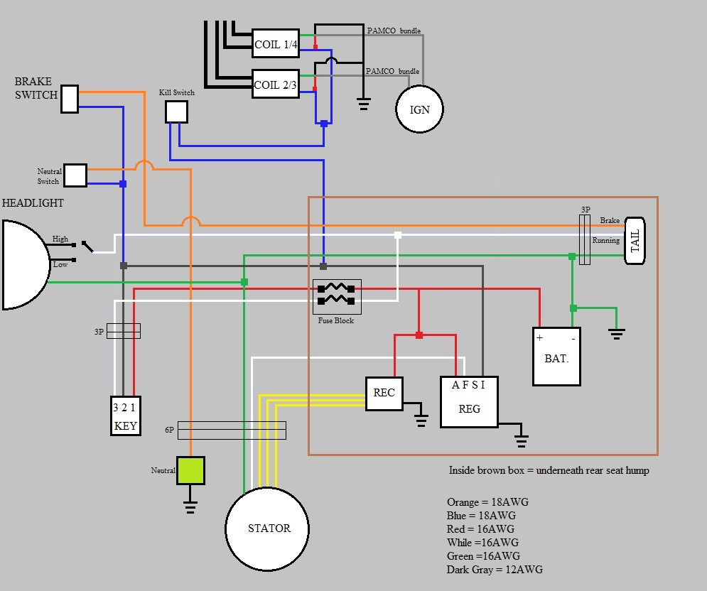 hight resolution of what is needed for a bare minimum wiring harness cobra cb mic wiring diagram honda cb360 wiring diagram