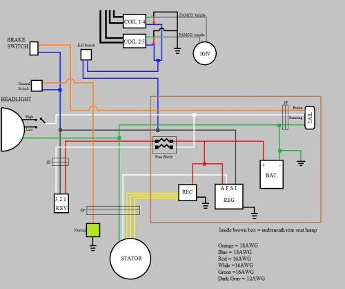 small resolution of what is needed for a bare minimum wiring harness cobra cb mic wiring diagram honda cb360 wiring diagram