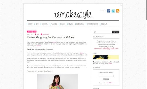 Remakestyle Revamp New Layout Simplo