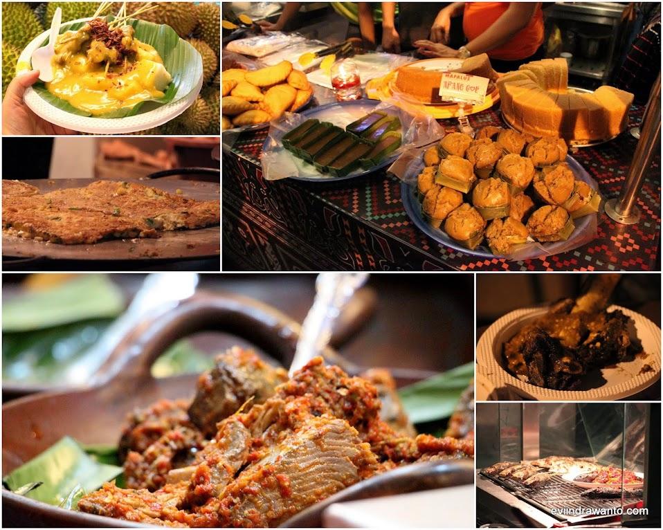 Makanan dalam festival kuliner serpong 2014
