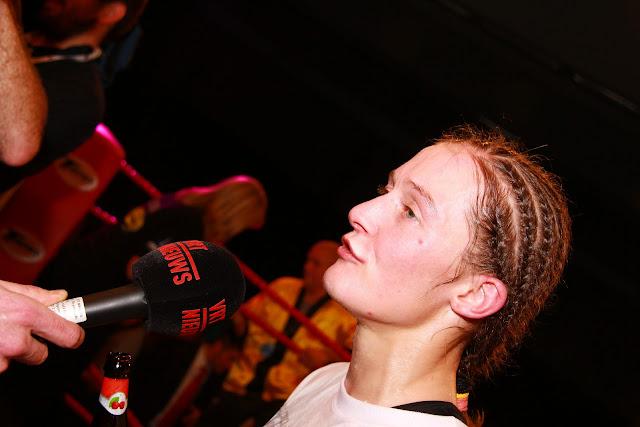 Delfine Persoon bij Sammy Neyrinck van VRT