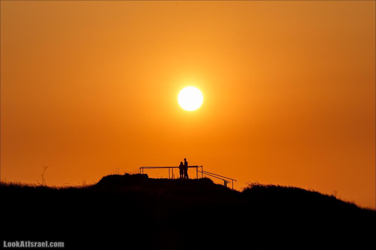 Закат в долине Аялонской | LookAtIsrael.com - Фото путешествия по Израилю и не только...