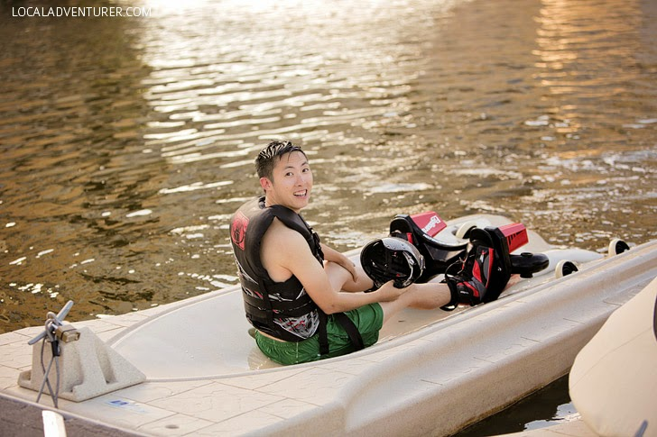 Water sports in Las Vegas // Flyboard rental.
