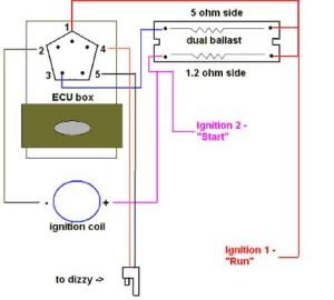 78 Dodge D150 318 dual ballast wiring diagram