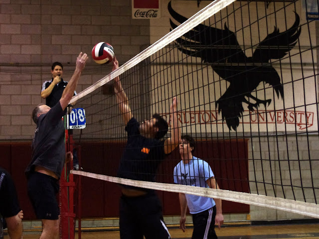 Thursday Volleyball at Carleton University