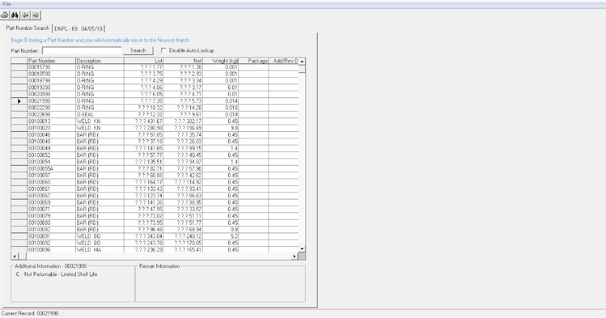 komatsu price list 2010 ~ Service & Spare Parts Catalog