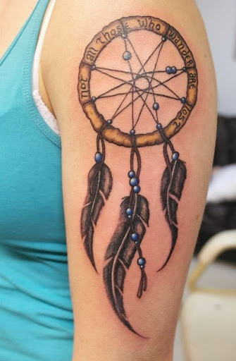 quotes Dreamcatcher Tattoos