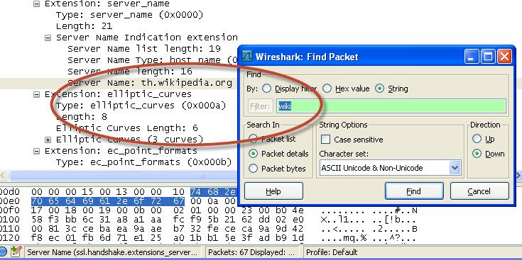 หาคำว่า wiki ก็เจอที่ server name อยู่แค่ที่เดียวเท่านั้น