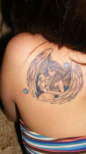cute angel tattoos