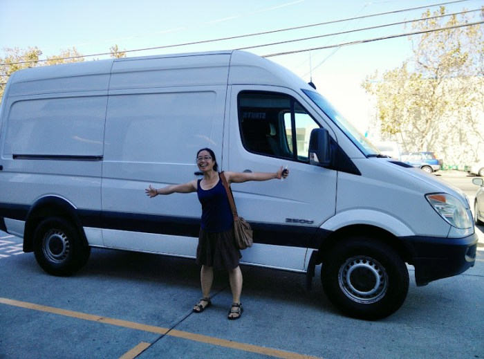 Our 2008 Sprinter Van