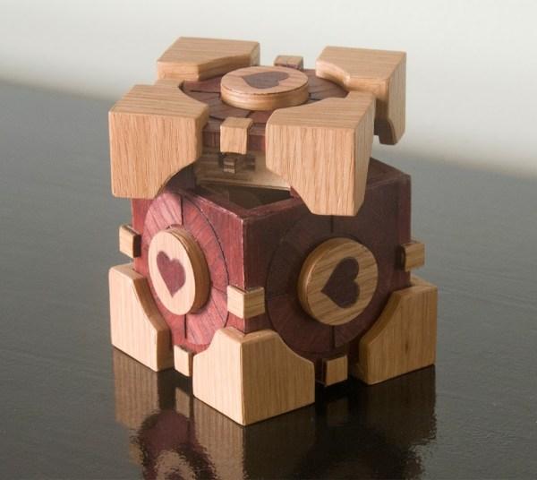 Companion Cube from Portal