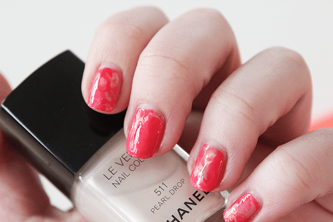 how-to: watercolor nails