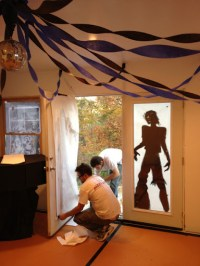 Liddy B. and me: Zombie Prom Party Decorations!