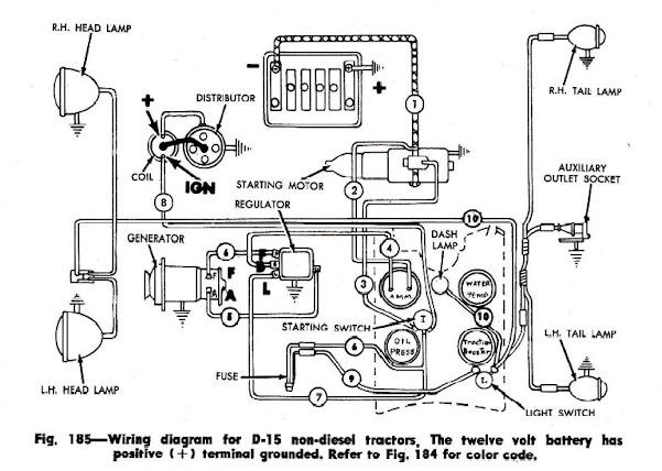 Wiring Diagram For Allis Chalmers Ca Wiring A Allis