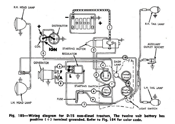Farmall Cub 6 Volt Wiring, Farmall, Free Engine Image For