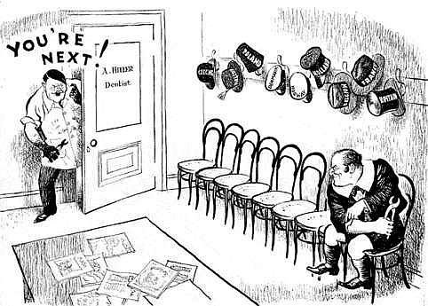 PICTURES FROM WAR AND HISTORY: World War Two In Cartoons