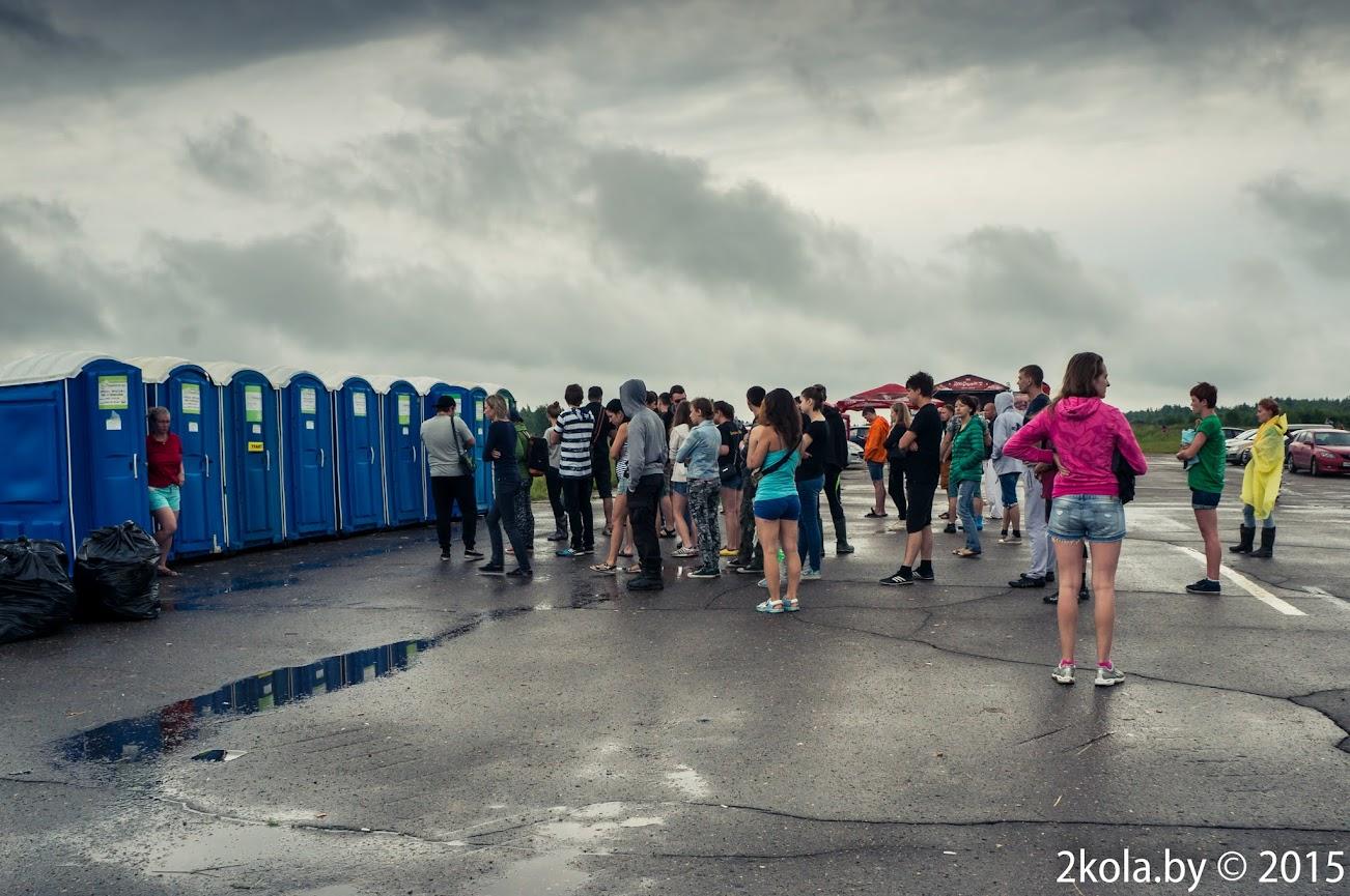 Туалеты на Доброфесте -2015