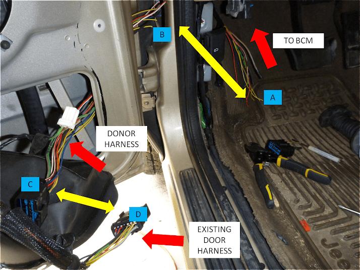 2000 jeep grand cherokee speaker wiring diagram prodigy brake controller 1999-2004 wj driver door boot fix (diy) - jeepforum.com