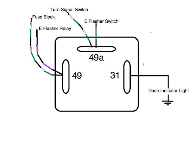 hazard flasher relay wiring diagram wiring diagram 4 pin flasher relay wiring diagram schematics and diagrams