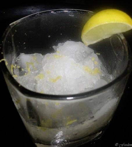 italian lemon ice granita