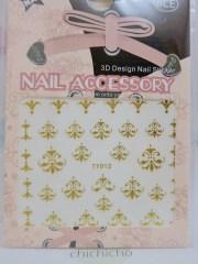 chandelier nail art sticker - chichicho