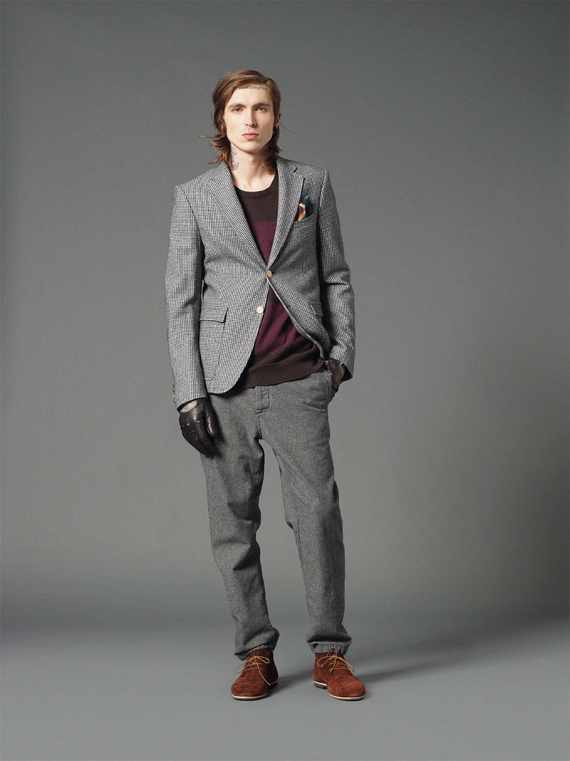 *Mauro Grifoni 和她的男人M.Grifoni Denim :Fall/Winter 2012-13 2
