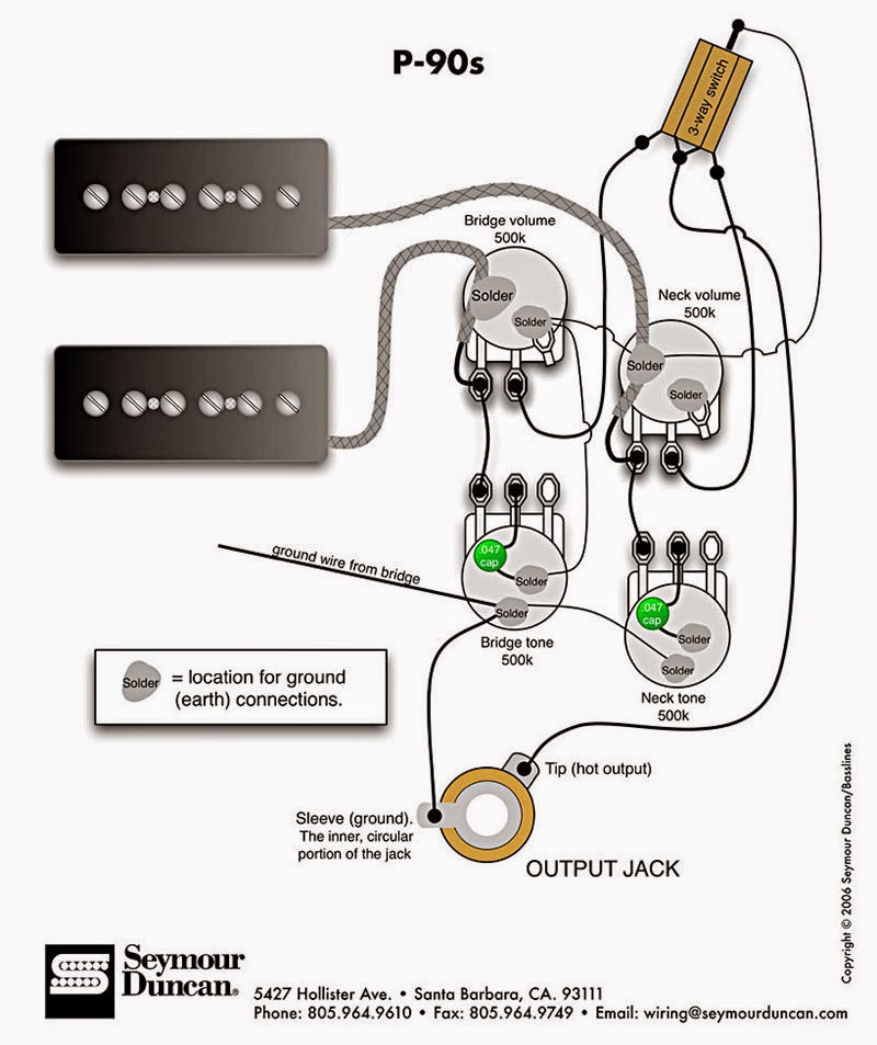 gibson les paul p90 wiring diagram simple home network schematics, which one? | my forum